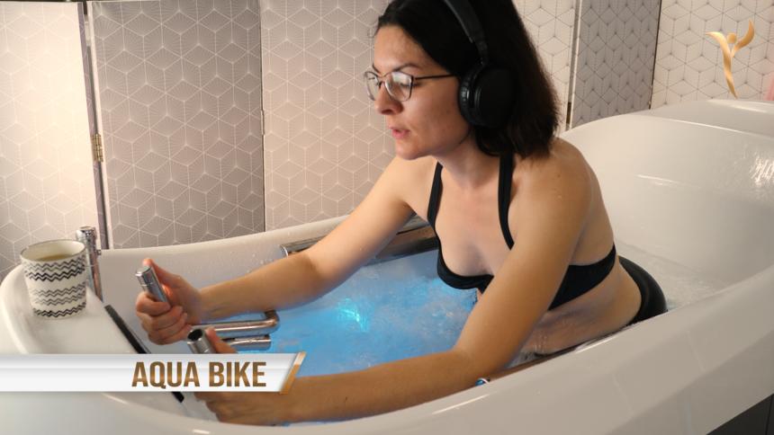 L'aquabike en cabine individuelle est proposée en Ille-et-Vilaine