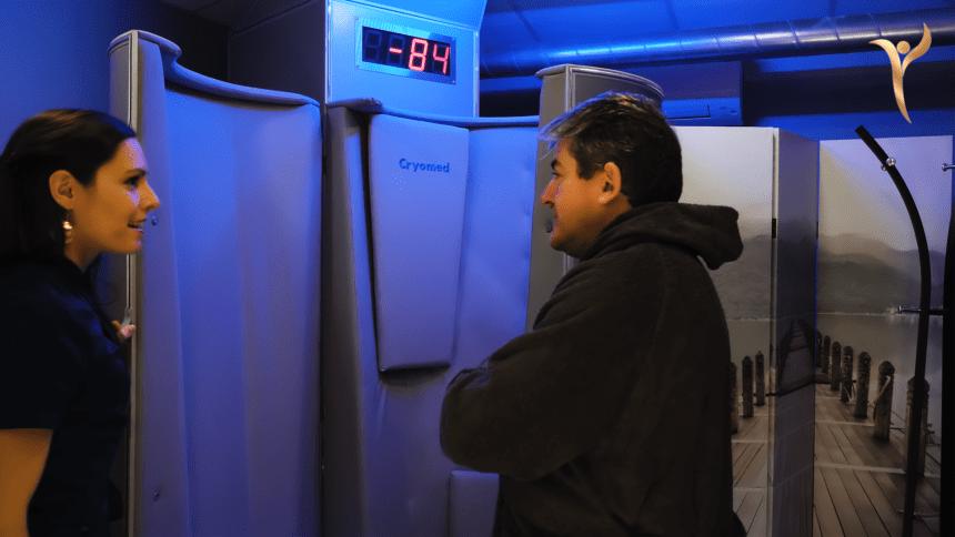Cabine de cryothérapie à Rennes