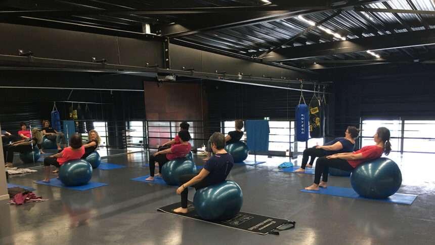 Cours de Pilates avec Swiss Ball chez ISTA